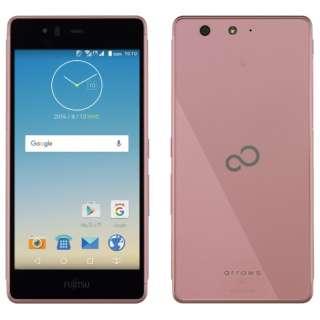 【防水・ワンセグ・おサイフケータイ対応】ARROWS M03 ピンク 「FARM06101」 Android6.0・5.0型・メモリ/ストレージ: 2GB/16GB nanoSIMx1 SIMフリースマートフォン