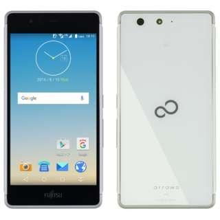 【防水・ワンセグ・おサイフケータイ対応】ARROWS M03 ホワイト 「FARM06103」 Android6.0・5.0型・メモリ/ストレージ: 2GB/16GB nanoSIMx1 SIMフリースマートフォン