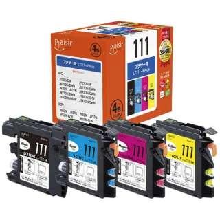 PLE-BR1114P 互換プリンターインク 4色