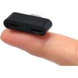 USB2-HUBMC2CH-B USBハブ ブラック [USB2.0対応 /3ポート /バスパワー]