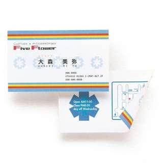 マルチ名刺カード(100カード分)[各種プリンタ /A4サイズ /10シート 10面] 白 JP-MCMT01N
