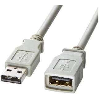 USB延長ケーブル(USB Aコネクタオス-USB Aコネクタメス・1m) KB-USB-E1K2