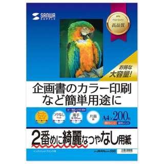 インクジェットスーパーファイン用紙[インクジェット /A4サイズ /200枚] JP-EM4NA4N-200