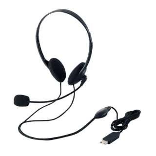 HS-HP27UBK ヘッドセット ブラック [USB /両耳 /ヘッドバンドタイプ]