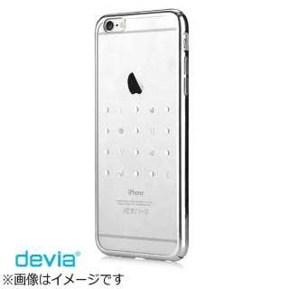 iPhone 6s/6用 Devia Crystal Love シルバー BLDV-076-SL