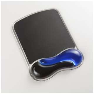 マウスパッド リストレスト付き ブルー K62401JP