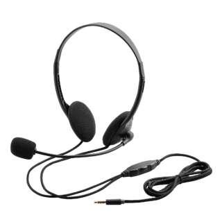 HS-HP22TBK ヘッドセット ブラック [φ3.5mmミニプラグ /両耳 /ヘッドバンドタイプ]