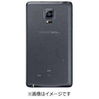 【au純正】背面カバー Charcoal Black SCL24TKA [GALAXY Note Edge SCL24対応]