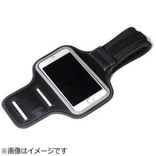 スマートフォン対応[幅 70mm] iJacket SPORTS アームバンド PG-SPB01BK