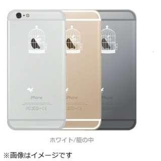 iPhone6 Plus (5.5) Applusアップラスハードクリアケース White IP6PAPPLUSWH ホワイト/籠の中