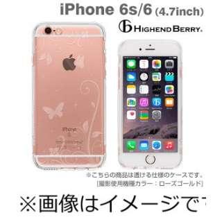 iPhone6 (4.7) HighendBerryオリジナルソフトTPUケース ストラップホー