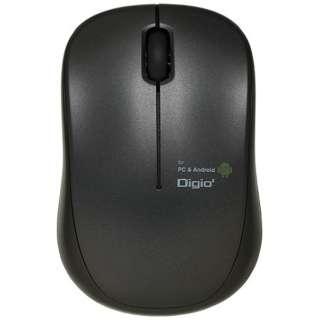 MUS-UKT122BK マウス Digio2 ケーブル巻き取りタイプ ブラック [BlueLED /3ボタン /USB /有線]