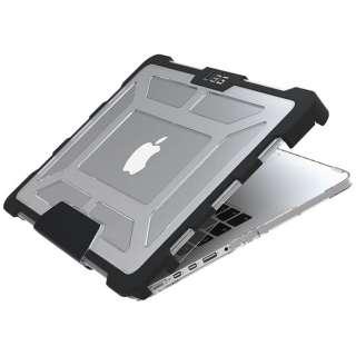 13インチ MacBook Pro Retinaディスプレイモデル用ケース (クリア) UAG-MBP13-A1502-ICE