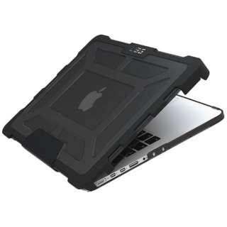 13インチ MacBook Pro Retinaディスプレイモデル用ケー (クリアグレー) UAG-MBP13-A1502-ASH
