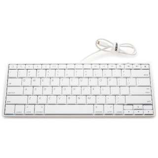 AS-KBPI77/SCWT キーボード [iPad用 Lightning接続] i-ProgresTouch (アイ プログレタッチ) ホワイト [有線]