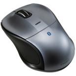 MUS-BKT111GY タブレット対応 マウス Digio2 グレー [BlueLED /3ボタン /USB /無線(ワイヤレス)]