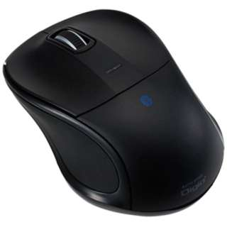 MUS-BKT111BK タブレット対応 マウス Digio2 ブラック [BlueLED /3ボタン /USB /無線(ワイヤレス)]