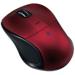 MUS-BKT111R タブレット対応 マウス Digio2 レッド [BlueLED /3ボタン /USB /無線(ワイヤレス)]