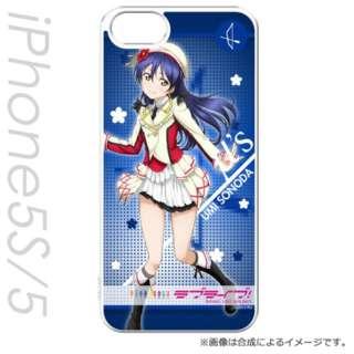 iPhone SE / 5s / 5用 キャラモード ラブライブ! 園田 海未 PCM-IP5S8549