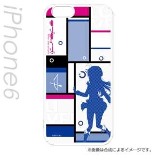 iPhone 6s/6用 キャラモード ラブライブ!シルエットVer 園田 海未 PCM-IP6-8457