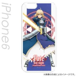 iPhone 6s/6用 キャラモード Fate/stay night [UBW] セイバーST PCM-IP6-7702
