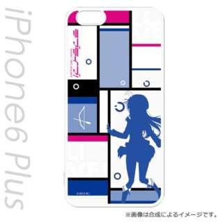 iPhone 6s Plus/6 Plus用 キャラモード ラブライブ!シルエットVer 園田 海未 PCM-IP6P8815