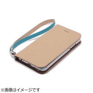 iPhone6 (4.7) 手帳型 Canvas Diary ベージュ