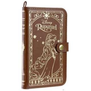 スマートフォン用[幅 75mm] ディズニーキャラクター Old Book Case プリンセス 塔の上のラプンツェル