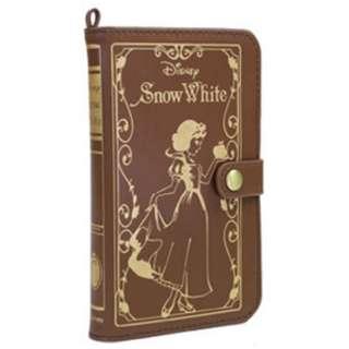 スマートフォン用[幅 75mm] ディズニーキャラクター Old Book Case プリンセス 白雪姫