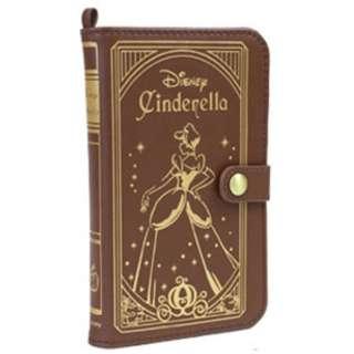 スマートフォン用[幅 75mm] ディズニーキャラクター Old Book Case プリンセス シンデレラ