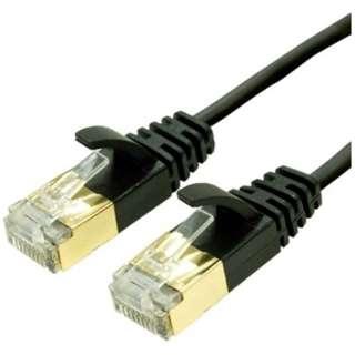 TWM-710BK LANケーブル ブラック [10m /カテゴリー7 /スリム]