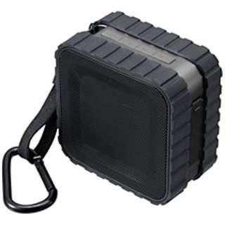 GH-SPBB130-BK ブルートゥース スピーカー ブラック [Bluetooth対応 /防水]
