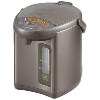 CD-WU22 電気ポット メタリックブラウン [蒸気レス機能つき /2.2L]