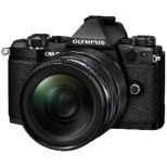 OM-D E-M5 Mark II ミラーレス一眼カメラ 12-40mm F2.8 レンズキット ブラック [ズームレンズ]