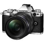 OM-D E-M5 Mark II ミラーレス一眼カメラ 12-40mm F2.8 レンズキット シルバー [ズームレンズ]