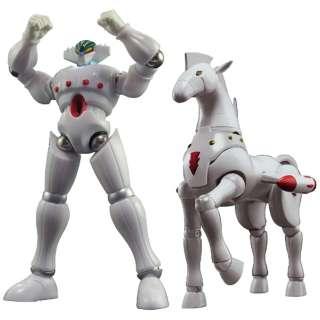 ダイナマイトアクションS! 鋼鉄ジーグ ホワイトver.&パーンサロイド