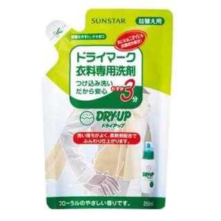 DRY・UP(ドライアップ) つめかえ用(250ml)〔衣類洗剤〕