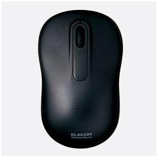 M-DY11DRBK マウス M-DY11DRシリーズ ブラック [光学式 /3ボタン /USB /無線(ワイヤレス)]