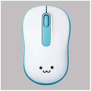 M-DY11DRBU マウス M-DY11DRシリーズ ブルー [光学式 /3ボタン /USB /無線(ワイヤレス)]