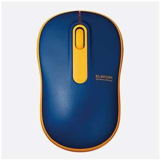 M-DY11DRNV マウス M-DY11DRシリーズ ネイビー [光学式 /3ボタン /USB /無線(ワイヤレス)]