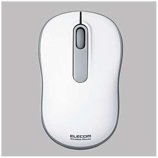 M-DY11DRWH マウス M-DY11DRシリーズ ホワイト [光学式 /3ボタン /USB /無線(ワイヤレス)]