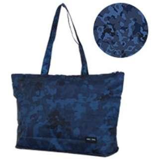 折りたたみトートバッグ H0001 迷彩ブルー