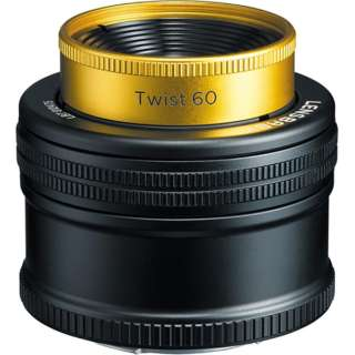 カメラレンズ Twist 60 ブラック [キヤノンEF /単焦点レンズ]