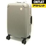 【アウトレット品】 スーツケース ハードキャリーケース 26L グレー DC7274GY [TSAロック搭載] 【生産完了品】