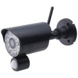 ワイヤレスカメラセット らくらくeyecan(アイカム) ブラック NS-9015WMS