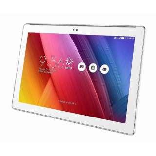 【LTE対応】ZenPad 10 ホワイト [Z300CNL-WH16] 10.1型・インテル Atom・ストレージ 16GB・メモリ 2GB microSIMx1 Android 6.0.1 SIMフリータブレット Z300CNL-WH16 ホワイト [10.1型ワイド /ストレージ:16GB /SIMフリーモデル]