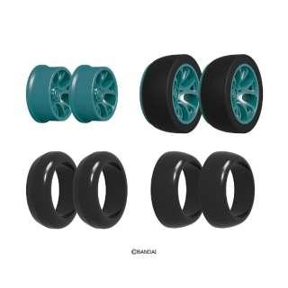 ゲキドライヴ CP-018 タイヤホイルセット06(25/26 テーパー)