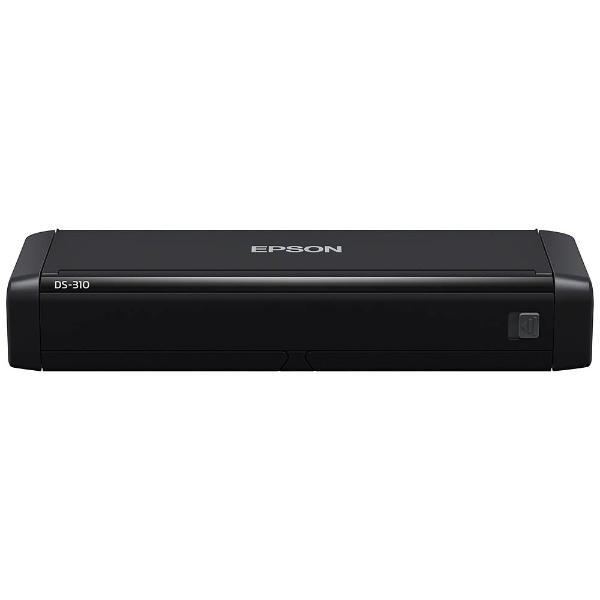 セイコーエプソン A4コンパクトシートフィードスキャナー 両面同時読取 A4片面25枚 分 200/300dpi DS-310 1台