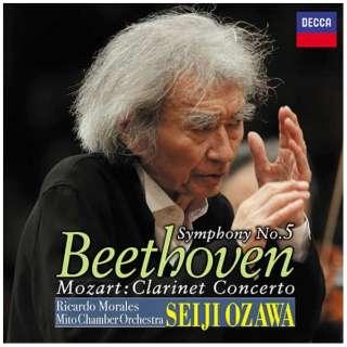 小澤征爾(cond)/ベートーヴェン:交響曲第5番≪運命≫ 他 【CD】