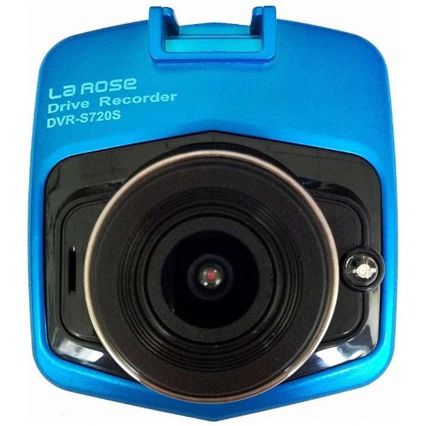 プロリンク ノイズカット対策 12V/24V車対応 2.31インチカラー液晶 Gセンサー搭載 コンパクトドライブレコーダー DVR-S720S ドライブレコーダー